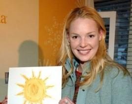 Katherine Heigl, Other Celebrities Auction Impromptu Art For Charity