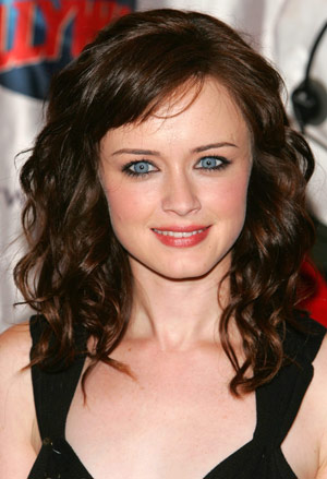 Celebrity Hairstyles Pictures of Alexis Bledel