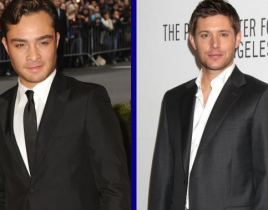 Tournament of TV Fanatic: Ed Westwick vs. Jensen Ackles!