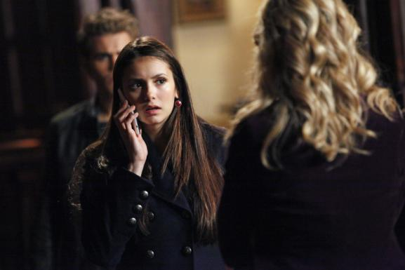 Elena on the Phone