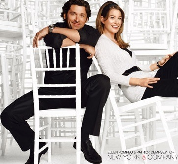 ellen pompeo pregnant and patrick dempsey. Pompeo and Dempsey clearly
