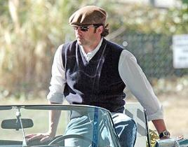 Patrick Dempsey Gets Revved Up