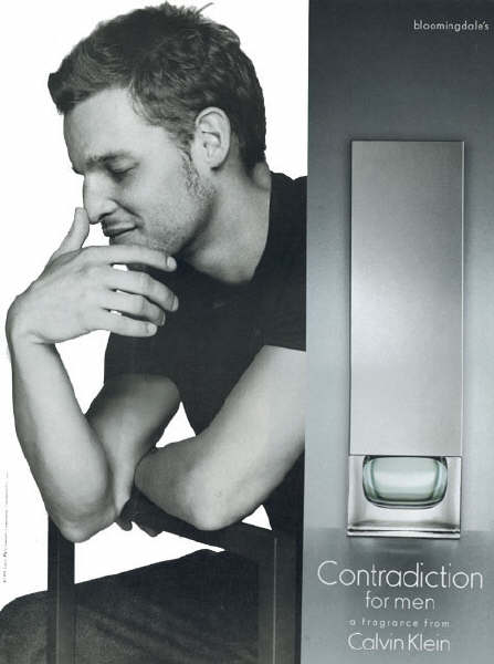 Justin Chambers For Calvin Klein