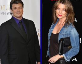 Tournament of TV Fanatic Semifinals: Nathan Fillion vs. Ellen Pompeo!