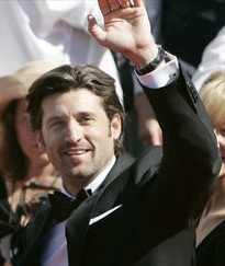 Patrick Dempsey at the Emmys