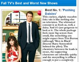 Pushing Daisies is the Best!
