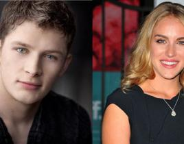 Brett Dier and Elizabeth Whitson Cast on Ravenswood