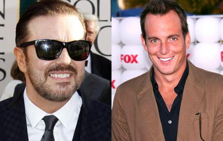 Ricky Gervais and Will Arnett