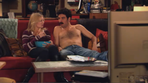 Shirtless Ted