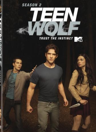 Teen Wolf DVD Cover