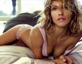 Tricia Helfer to Be Hot on Two and a Half Men