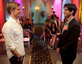90210 First Look: A Las Vegas Wedding