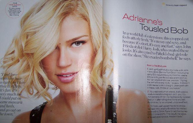 Minka is Making Waves · Adrianne Palicki in InStyle