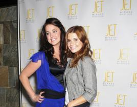 Ashley Newbrough Hosts JET Nightclub Party