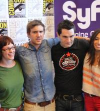 Being Human at Comic-Con 2011