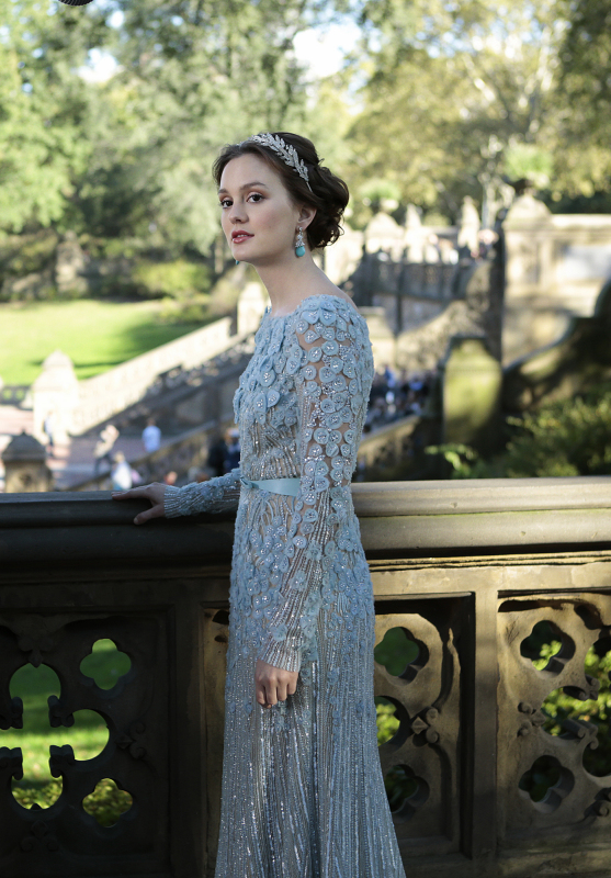 Blair 39 s wedding dress spoilers if you 39 re into gossip girl for Wedding dress blair waldorf