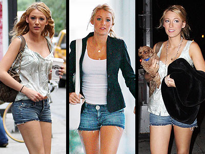 We are certainly not complaining about this fashion trend. Blake Lively's