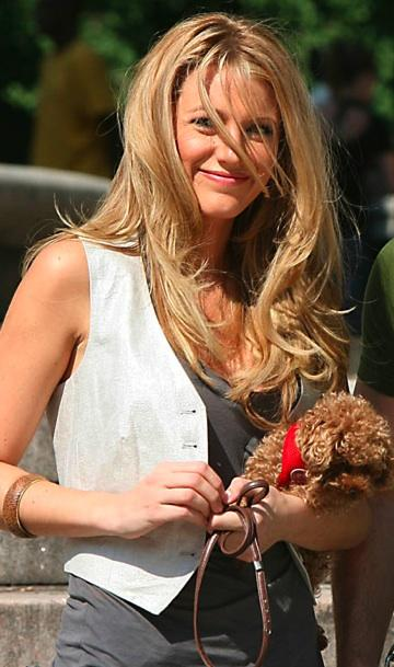 blake lively hair color. lake lively dog