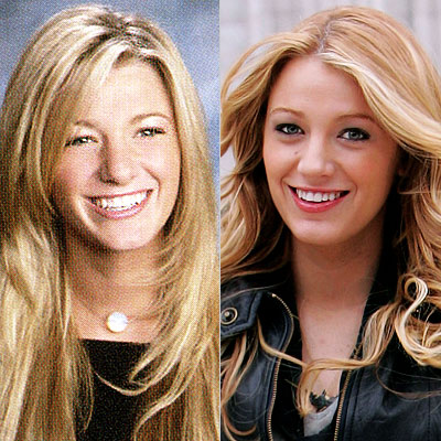 Blake Lively Yearbook Photo