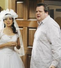 Cameron with a Bride