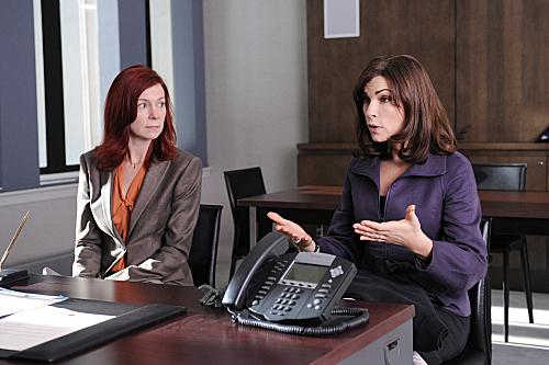 Carrie Preston on The Good Wife