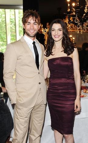 chace crawford and elizabeth minett. Chace Crawford and Rachel