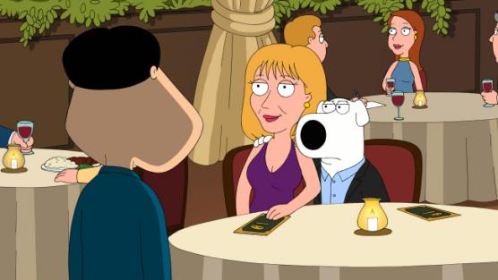 Cheryl Tiegs on Family Guy