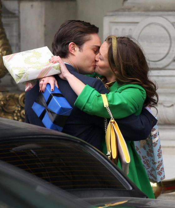 Gossip girl chuck and blair kiss