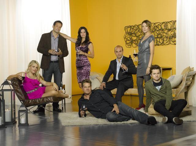 cougar town  cast