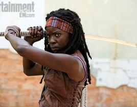 The Walking Dead First Look: Danai Gurira as Michonne