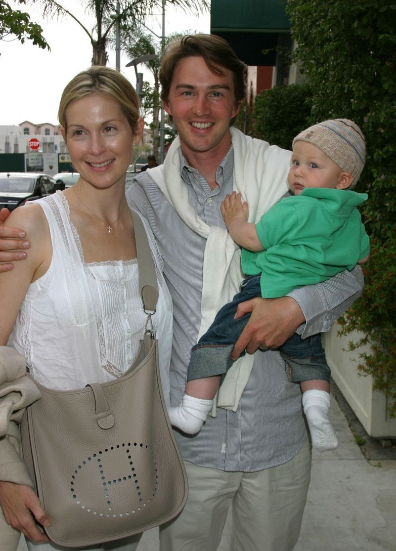Daniel Giersch  Gossip Girl star Kelly Rutherford and their son Hermes    Kelly Rutherford And Daniel Giersch