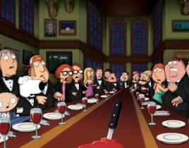 "Family Guy Season Premiere Review: ""And Then There Were Fewer"""