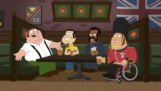 family guy british