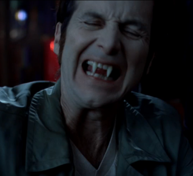 true blood bill fangs. Fangs Bared
