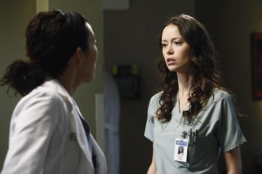 Glau on Grey's