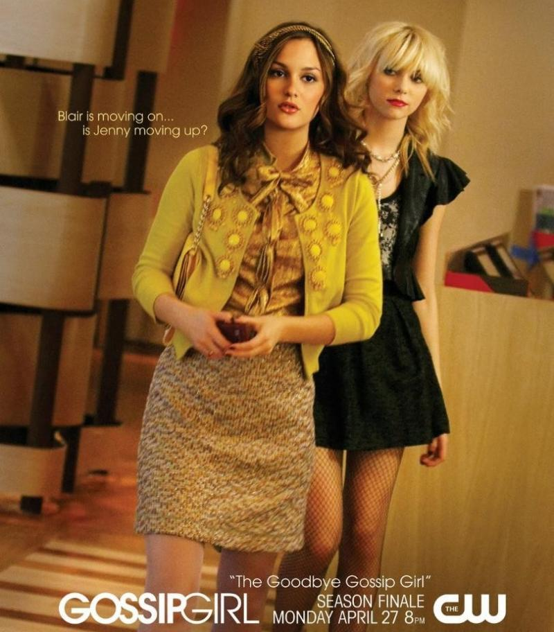 Promotional poster for the second season finale of gossip girl