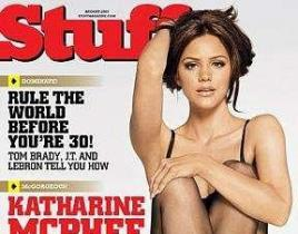 Katharine McPhee Burns Up Pages of Stuff Magazine