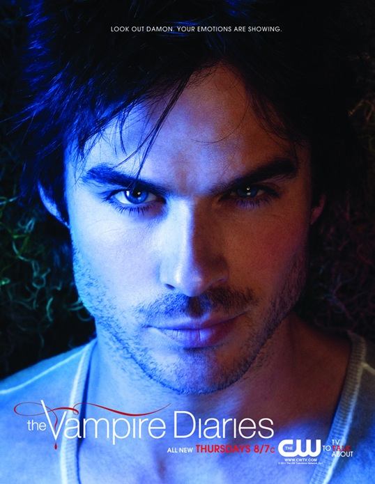 vampire diaries season 2 poster. Hot Damon Poster