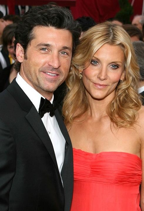 Patrick Dempsey with cool, sexy, friendly, Wife Jillian Dempsey