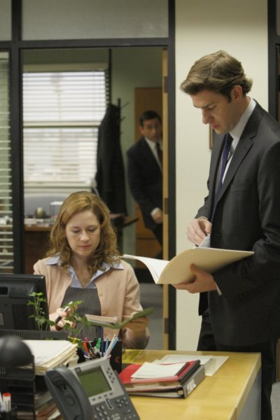 Jim and Pam Pic