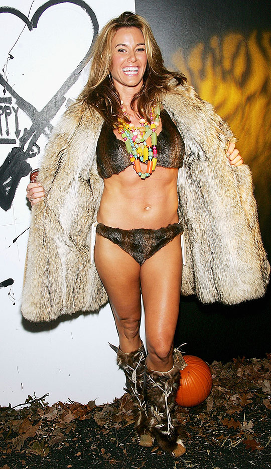 Kelly Bensimon Weird Bikini