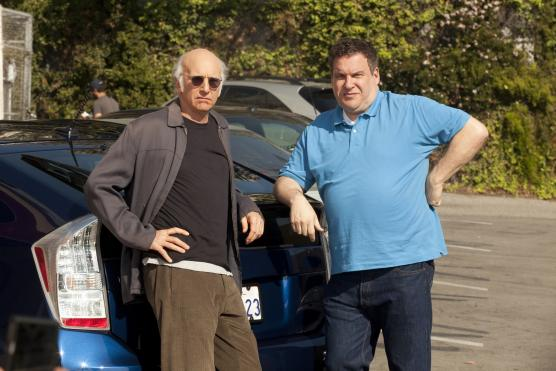 Larry David and Jeff Garlin