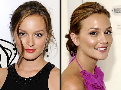 Leighton Meester Hairstyles. Which hair color looks best on Leighton Meester