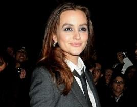 Gossip Boy? Leighton Meester Suits Up!