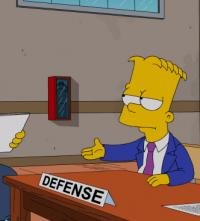Lisa Helps Defends Bart