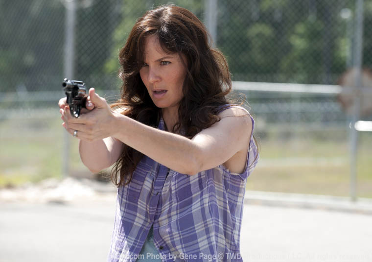 Lori with a Gun