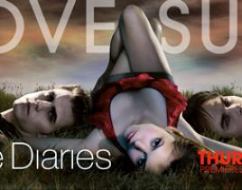 New Posters for The Vampire Diaries: Love Continues to Suck
