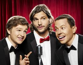 Ashton Kutcher on Two and a Half Men: Meet Walden Schmidt!