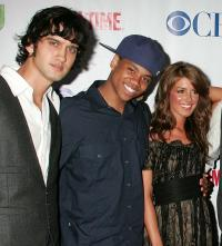 Michael Steger, Tristan Wilds and Shenae Grimes