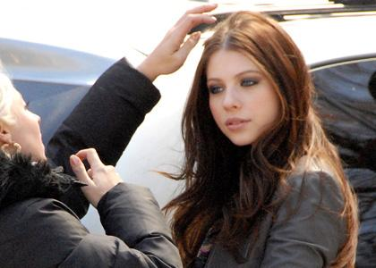 michelle trachtenberg without makeup